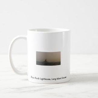 Rennen-Felsen-Leuchtturm der Long-Island-Sund Kaffeetasse