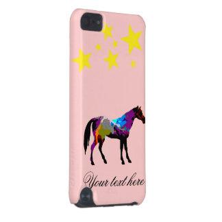 Rennen-Pferd personalisiert iPod Touch 5G Hülle