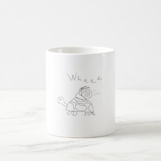 Rennen-Schildkröte-Kaffee-Tasse Kaffeetasse