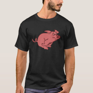 rennendes Schwein running pig T-Shirt