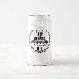 Rennes Bierglas