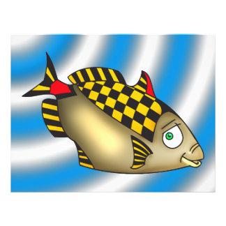 Rennläufer-Fische 21,6 X 27,9 Cm Flyer