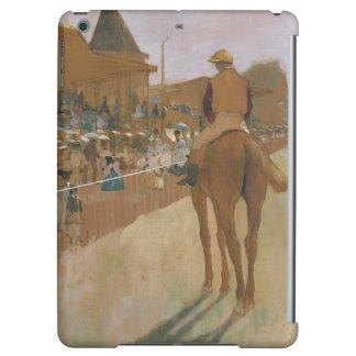 Rennpferde Edgar Degass | vor den Ständen