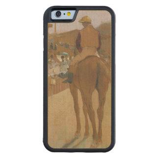 Rennpferde Edgar Degass | vor den Ständen Bumper iPhone 6 Hülle Ahorn