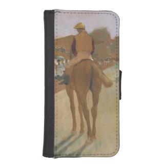 Rennpferde Edgar Degass   vor den Ständen Geldbeutel Hülle Für Das iPhone SE/5/5s