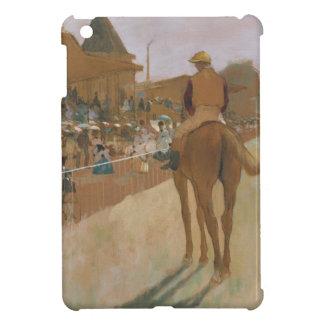 Rennpferde Edgar Degass | vor den Ständen iPad Mini Hülle
