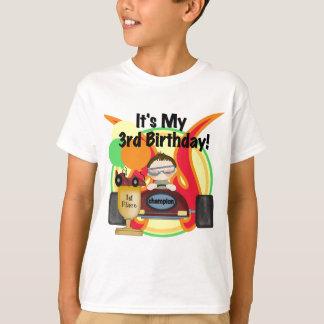 Rennwagen-3. Geburtstags-T-Shirts und Geschenke T-Shirt