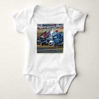 Rennwagen Baby Strampler