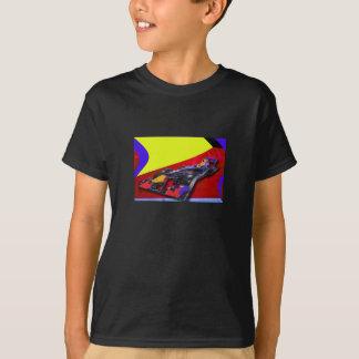 RENNWAGEN-MODERNE KUNST T-Shirt