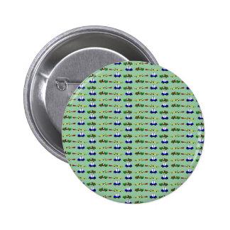 Rennwagen Runder Button 5,7 Cm