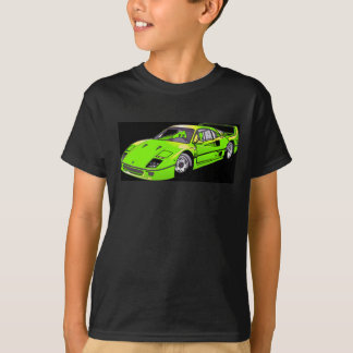 Rennwagen T-Shirt