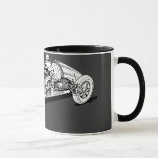 Rennwagen Tasse