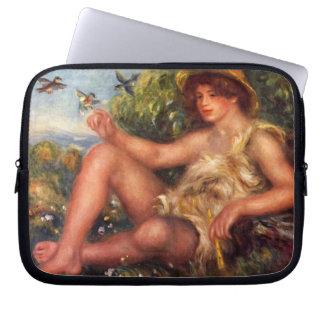 Renoir - junger Mann Laptop Sleeve