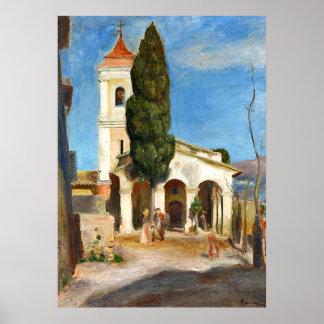 Renoir - Kapelle unserer Dame des Schutzes Poster
