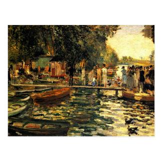 Renoir - La Grenouillere Postkarte