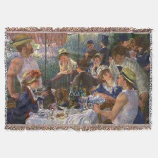 Renoir Mittagessen des Bootfahrt-Party Decke