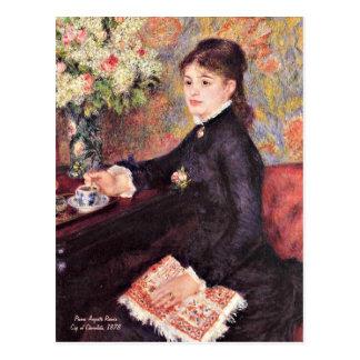 Renoir - Schale Schokolade, 1878 Postkarte