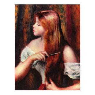 Renoir schöne Kunst Postkarte