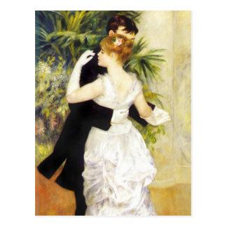 Renoir Tanz in der Stadt-Postkarte