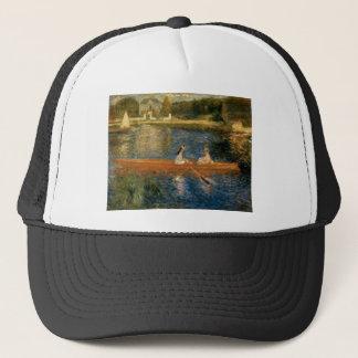Renoirs die Seine bei Asnières (der Skiff) Ca 1879 Truckerkappe