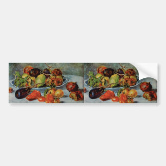 Renoirs Stillleben mit Mittelmeerfruit, 1911 Autoaufkleber