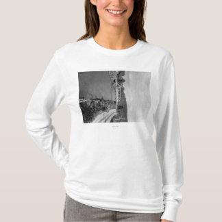 Renton, WA Ansicht der Zedern-Fluss-Fotografie T-Shirt