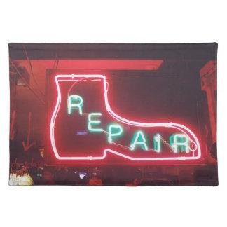 Repare Leuchtreklame NYC Tischset