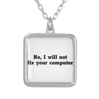 Reparieren Sie Ihren Computer Versilberte Kette