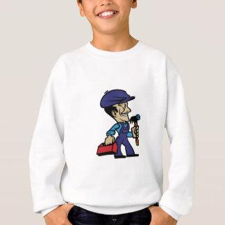 Reparieren Sie Mann Sweatshirt