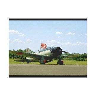 Replik-Sturzbomber, vordere Angle_WWII Flugzeuge Leinwand Drucke