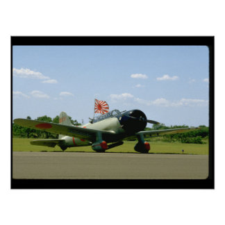 Replik-Sturzbomber, vordere Angle_WWII Flugzeuge Poster