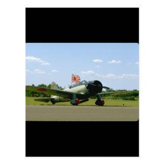 Replik-Sturzbomber, vordere Angle_WWII Flugzeuge Postkarten