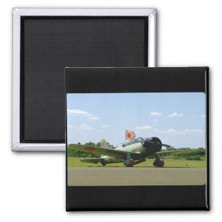 Replik-Sturzbomber, vordere Angle_WWII Flugzeuge Quadratischer Magnet