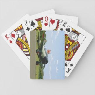 Replik-Sturzbomber, vordere Angle_WWII Flugzeuge Spielkarten