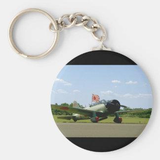 Replik-Sturzbomber, vordere Angle_WWII Flugzeuge Standard Runder Schlüsselanhänger