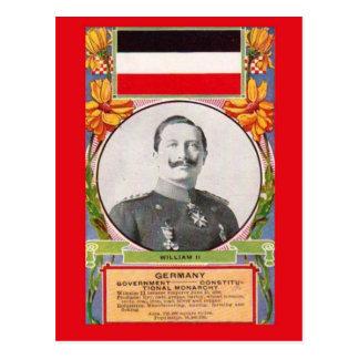 Replik-Vintage Postkarte   Kaiser Wilhelm Ii
