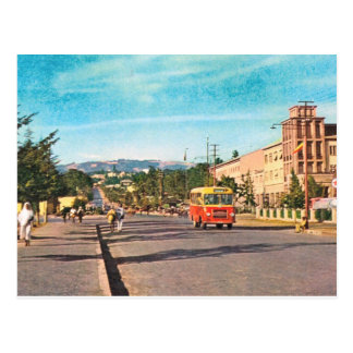Replik Vintages Äthiopien, Äthiopien, Addis Abeba Postkarte