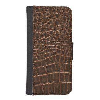Reptil-Haut-Kasten iPhone 5 Portmonnaie