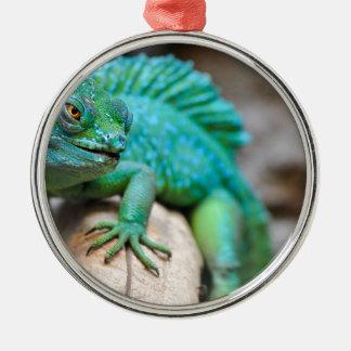 Reptil Silbernes Ornament