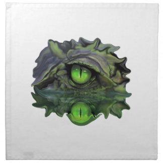 Reptilian-Auge Serviette
