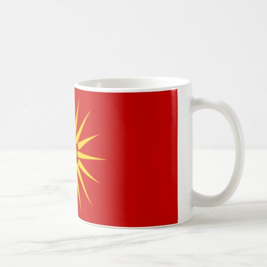 Republic of Macedonia Kaffeetasse