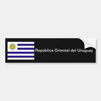 República orientalischer del Uruguay-Stoßdämpfer Autoaufkleber