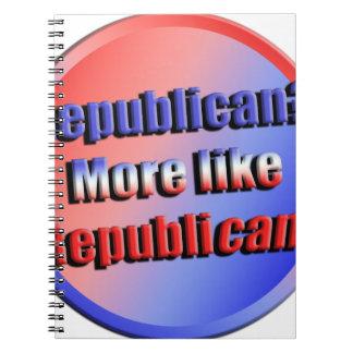 Republicant Spiral Notizblock