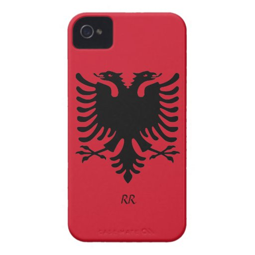 Republik- Albanienflaggen-Eagle iPhone 4/4S Fall iPhone 4 Hülle