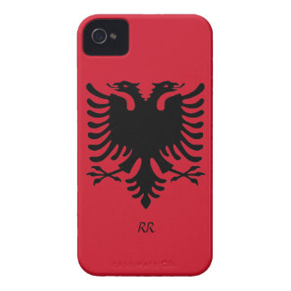Republik- Albanienflaggen-Eagle iPhone 4/4S Fall iPhone 4 Cover