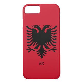 Republik- Albanienflaggen-Eagle iPhone 7 Fall iPhone 8/7 Hülle