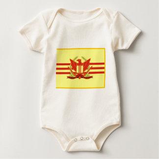 Republik der Südvietnam-Streitkraft-Flagge Baby Strampler