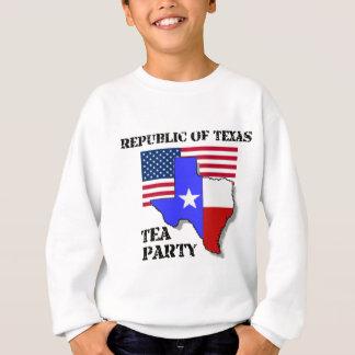 Republik des Texas-Tee-Party Sweatshirt