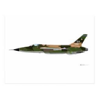 Republik F-105 Thunderchief Postkarte