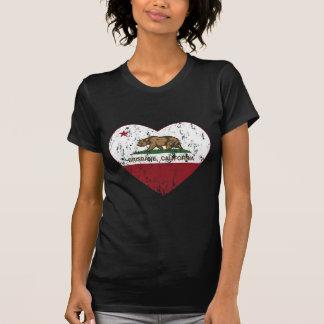 Republik-Herz Brisbanes Kalifornien beunruhigt T-Shirt